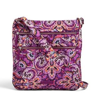 Iconic Triple Zip Hipster in Dream Tapestry NWT